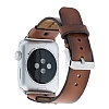 Bouletta Apple Watch / Watch 2 Gerçek Deri Kordon RST2EF (42 mm) - Resim 2