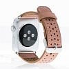 Bouletta Apple Watch / Watch 2 Gerçek Deri Kordon RST8 (38 mm) - Resim 1