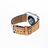 Bouletta Apple Watch / Watch 2 Gerçek Deri Kordon G8 (38 mm) - Resim 3