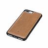 Bouletta Flex Cover iPhone 7 Plus / 8 Plus RST2EF Gerçek Kahverengi Deri Kılıf - Resim 2