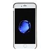 Bouletta Full Cover CC iPhone 7 Kartlıklı Floater Etop Gerçek Deri Kılıf - Resim 1