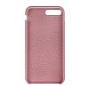 Bouletta Full Cover CC iPhone 7 Plus Kartlıklı Floater Açık Pembe Gerçek Deri Kılıf - Resim 1