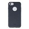 Bouletta Magic Wallet iPhone 7 Standlı Kapaklı Floater Black Gerçek Deri Kılıf - Resim 4