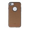 Bouletta Magic Wallet iPhone 7 Standlı Kapaklı Floater Tan Gerçek Deri Kılıf - Resim 5