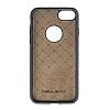 Bouletta Magic Wallet iPhone 7 Standlı Kapaklı Floater Tan Gerçek Deri Kılıf - Resim 1
