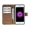 Bouletta Magic Wallet iPhone 7 Standlı Kapaklı Floater Tan Gerçek Deri Kılıf - Resim 4