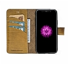 Bouletta Magic Wallet iPhone X / XS V5EF Kahverengi Gerçek Deri Kılıf - Resim 5