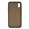 Bouletta Ultra Cover iPhone X G2 Kahverengi Gerçek Deri Kılıf - Resim 3