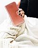 Bouletta Wallet ID iPhone 6 / 6S Standlı Kapaklı Açık Kahverengi Gerçek Deri Kılıf - Resim 1