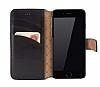 Bouletta Wallet ID iPhone 6 / 6S Standlı Kapaklı Siyah Gerçek Deri Kılıf - Resim 7