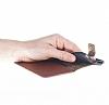 Bouletta Wallet ID iPhone 6 / 6S Standlı Kapaklı Açık Kahverengi Gerçek Deri Kılıf - Resim 2