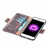 Bouletta Wallet ID iPhone 7 / 8 RST2EF Standlı Kapaklı Gerçek Deri Kılıf - Resim 3