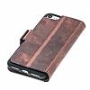 Bouletta Wallet ID iPhone 7 / 8 RST2EF Standlı Kapaklı Gerçek Deri Kılıf - Resim 2
