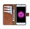 Bouletta Wallet ID iPhone 7 / 8 RST2EF Standlı Kapaklı Gerçek Deri Kılıf - Resim 4