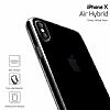 Buff Air Hybrid iPhone X Ultra Koruma Smoke Black Kılıf - Resim 3