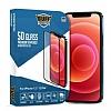 Buff iPhone 12 / 12 Pro 5D Glass Ekran Koruyucu
