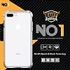 Buff No 1 iPhone 7 Plus / 8 Plus Ultra Koruma Smoke Black Kılıf - Resim: 4