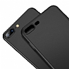 Buff Slim Fit iPhone 8 Plus Ultra Koruma Dark Grey Kılıf - Resim 1