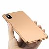 Buff Slim Fit iPhone X Ultra Koruma Gold Kılıf - Resim 3