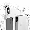 Buff Slim Fit iPhone X Ultra Koruma Gold Kılıf - Resim 1