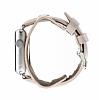 Burkley Apple Watch Pembe Gerçek Deri Kordon (38 mm) - Resim 2