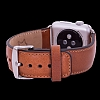 Burkley Apple Watch RST2 Kahverengi Gerçek Deri Kordon (38 mm) - Resim 3