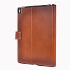 Burkley Cover Wallet Folio Apple iPad Pro 9.7 Special Burned Tan Gerçek Deri Kılıf - Resim: 2