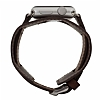 Burkley Cuff Apple Watch Antique Coffee Ger�ek Deri Kordon (42 mm) - Resim: 2