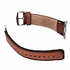 Burkley Padded Watch Genuine Apple Watch Burnished Tan Gerçek Deri Kordon (42 mm) - Resim: 2