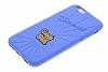 Candy Crush iPhone 6 / 6S Blueberry Silikon Kılıf - Resim 2