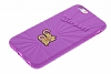 Candy Crush iPhone 6 / 6S Grape Silikon Kılıf - Resim 2