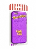 Candy Crush iPhone 6 / 6S Grape Silikon Kılıf - Resim 4