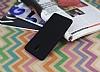 Casper Via A1 Plus Mat Siyah Silikon Kılıf - Resim 1