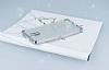 Casper Via A1 Plus Simli Silver Silikon Kılıf - Resim 2