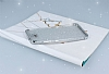 Casper Via A1 Simli Silver Silikon Kılıf - Resim 2