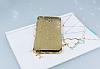 Casper Via A1 Simli Gold Silikon Kılıf - Resim 1