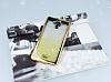 Casper Via E1 Simli Parlak Gold Silikon Kılıf - Resim 1