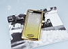 Casper Via M1 Simli Parlak Gold Silikon Kılıf - Resim 1