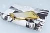 Casper Via M1 Simli Parlak Gold Silikon Kılıf - Resim 2