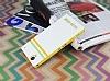 Corsair Sony Xperia T2 Ultra Standlı Cüzdanlı Beyaz Kılıf - Resim 2