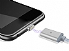 Cortrea Lightning Micro USB Type-C Gold Manyetik Data Kablosu 1m - Resim 1
