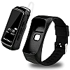 Cortrea B7 Siyah Akıllı Bileklik ve Bluetooth Kulaklık - Resim 1