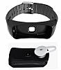 Cortrea B7 Siyah Akıllı Bileklik ve Bluetooth Kulaklık - Resim 2
