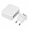 Cortrea High Power Yüksek Kapasiteli 4 USB Port Çoklu Ev Şarj Adaptörü - Resim 5