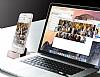 Cortrea iPhone 7 / 8 Lightning Masaüstü Dock Siyah Şarj Aleti - Resim 3