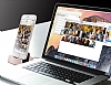 Cortrea iPhone 7 Plus Lightning Masaüstü Dock Siyah Şarj Aleti - Resim 3