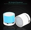 Cortrea Işıklı Silver Taşınabilir Bluetooth Hoparlör - Resim 2
