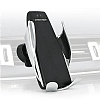 Eiroo Kablosuz Şarj Özellikli Sensörlü Araç Tutucu - Resim 2