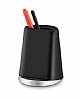 Cortrea Kalemlikli Kablosuz Siyah Hızlı Şarj Standı - Resim 1