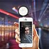 Cortrea Lightspeak 3,5 Jack Girişli Selfie Işıklı Hoparlör - Resim 1